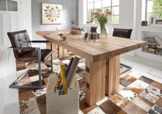 table-chene-massif-contemporaine