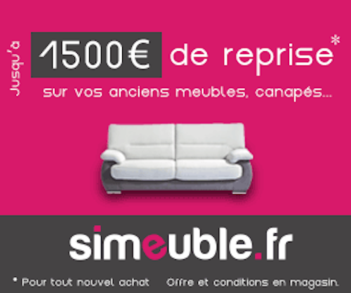 reprise de votre ancien meuble jusqu 1500 le blog. Black Bedroom Furniture Sets. Home Design Ideas