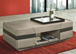 Table basse de salon rectangulaire