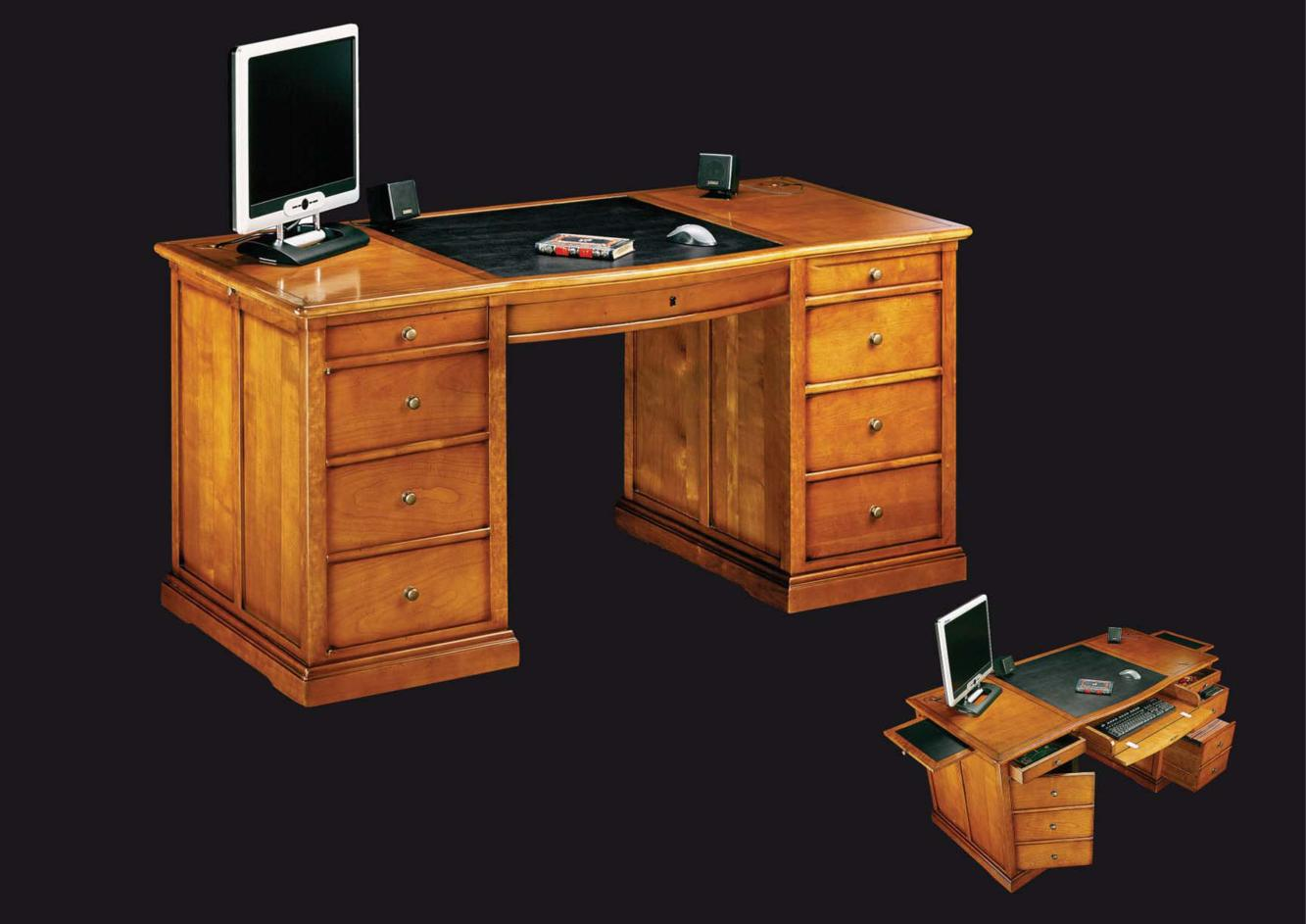 acheter votre bureau informatique chez simeuble. Black Bedroom Furniture Sets. Home Design Ideas