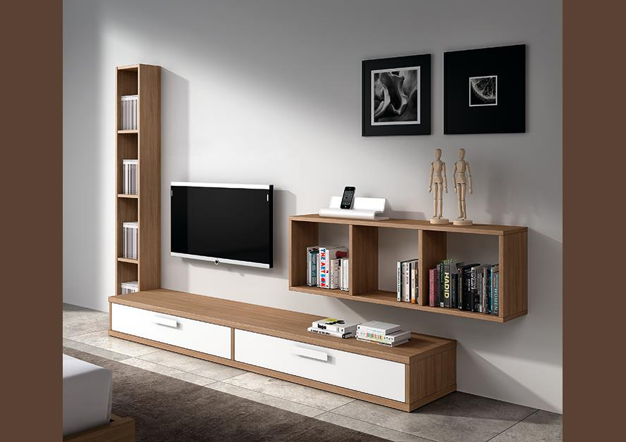 meuble tv avec tv suspendu solutions pour la d coration int rieure de votre maison. Black Bedroom Furniture Sets. Home Design Ideas
