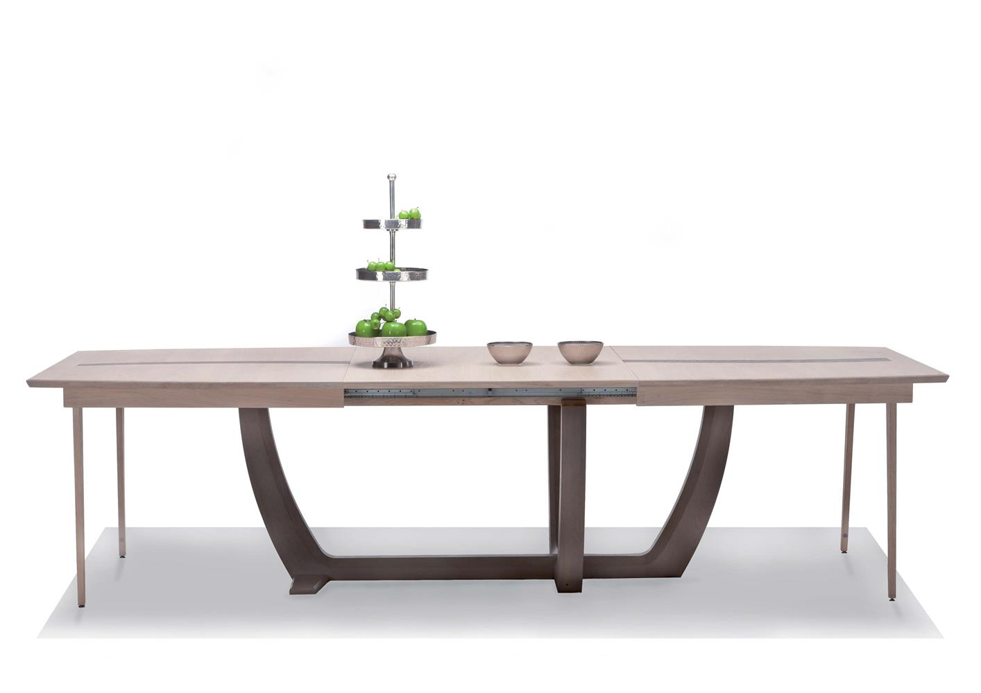 table chene massif moderne - maison design - homedian