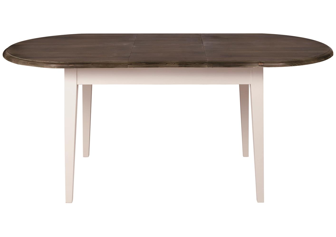 Acheter votre table ovale en pin 1 allonge centrale chez for Table ovale allonge