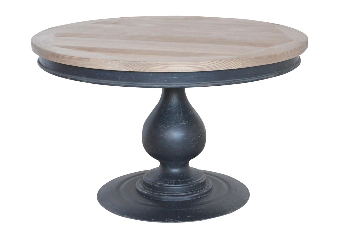 Acheter votre table pied central original en pin massif - Pied de table original ...