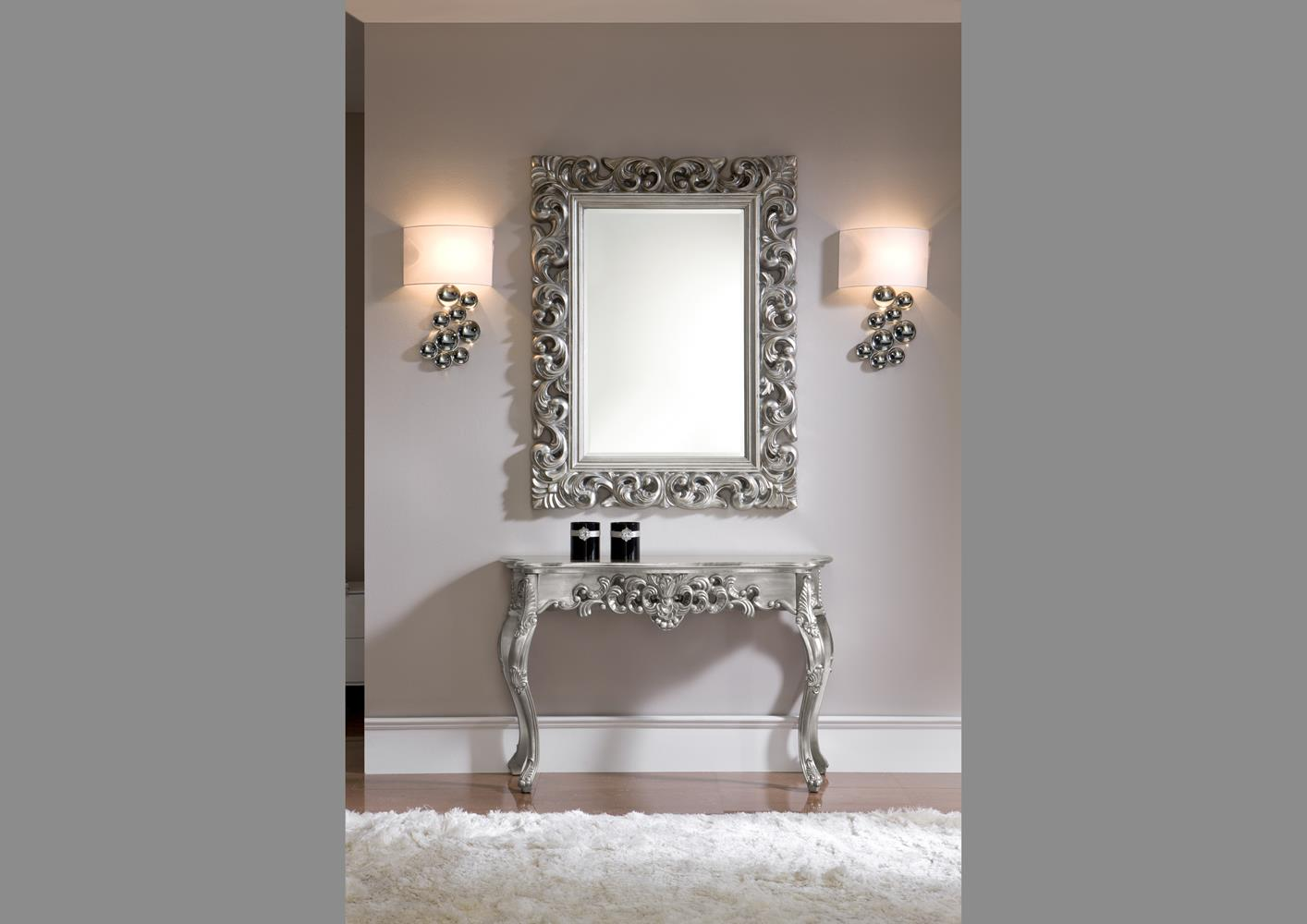 acheter votre miroir original or style baroque chez simeuble. Black Bedroom Furniture Sets. Home Design Ideas