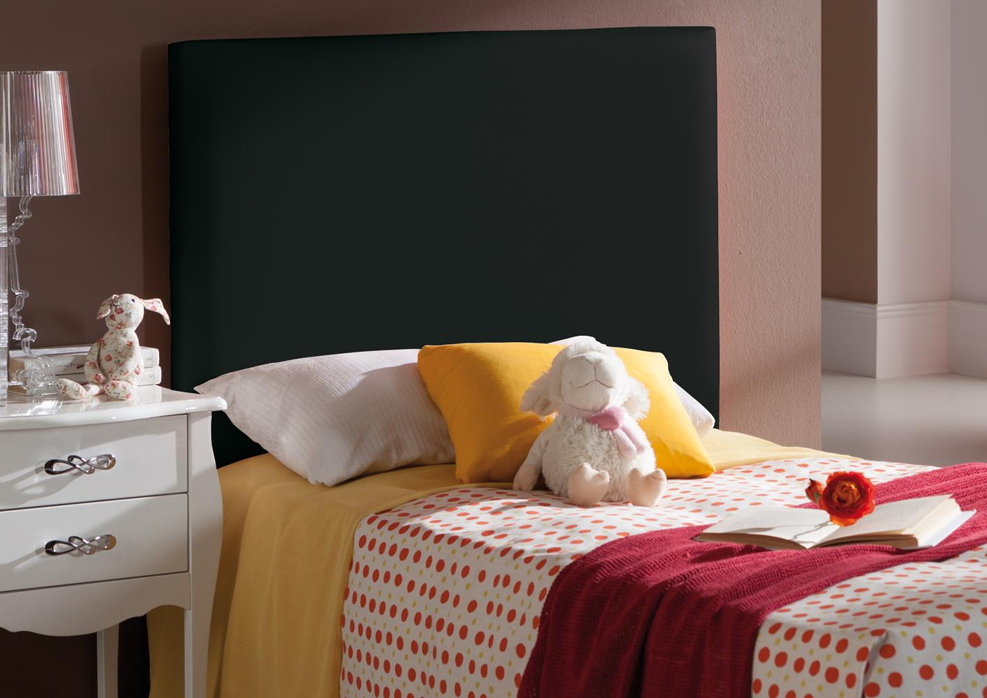 acheter votre t te de lit en pvc violet chez simeuble. Black Bedroom Furniture Sets. Home Design Ideas