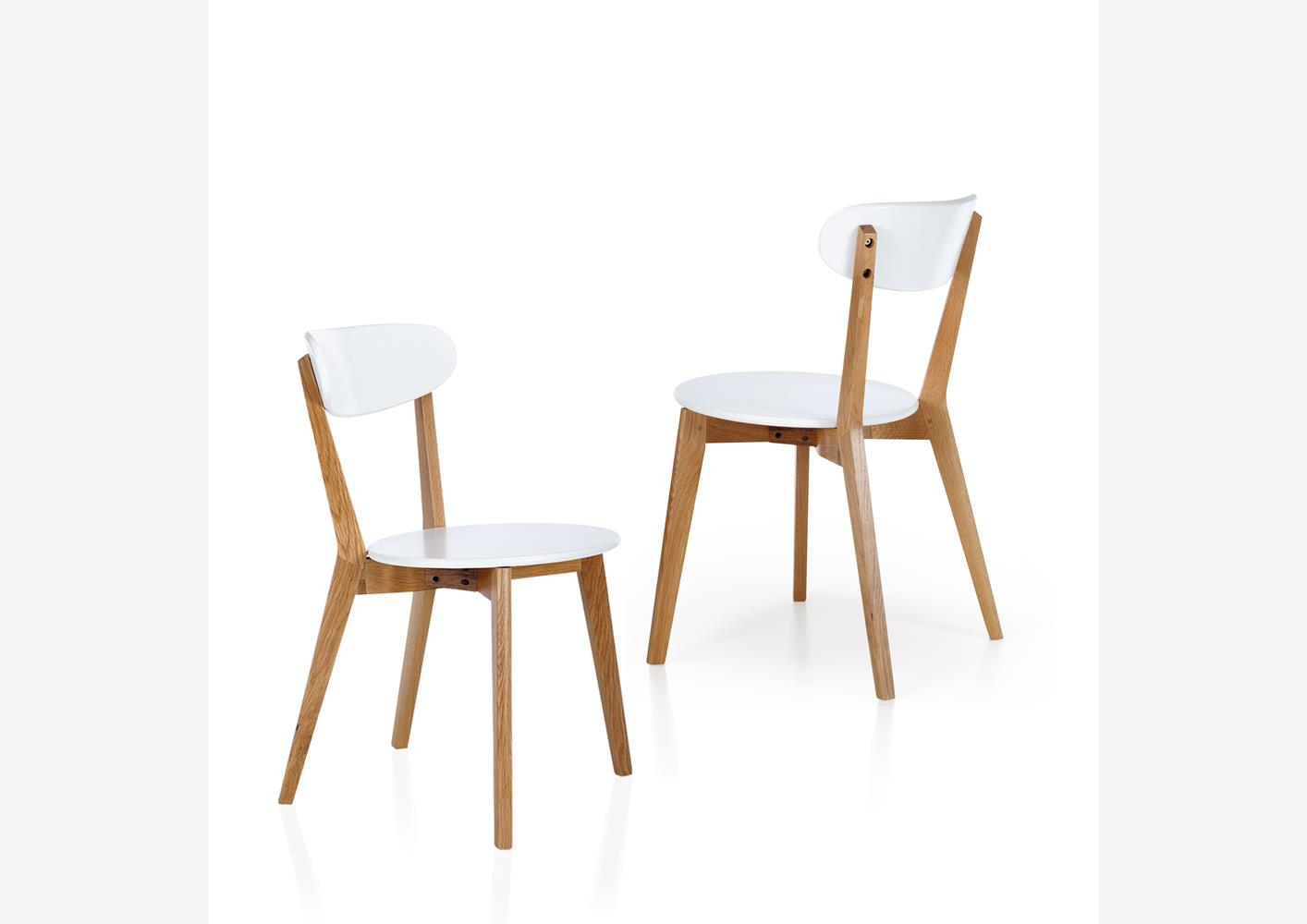 Chaises cuisine for Chaise contemporaine blanche