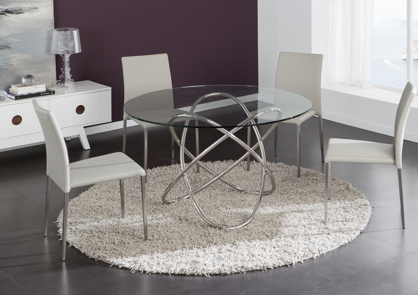 table originale plateau verre - Table Plateau En Verre