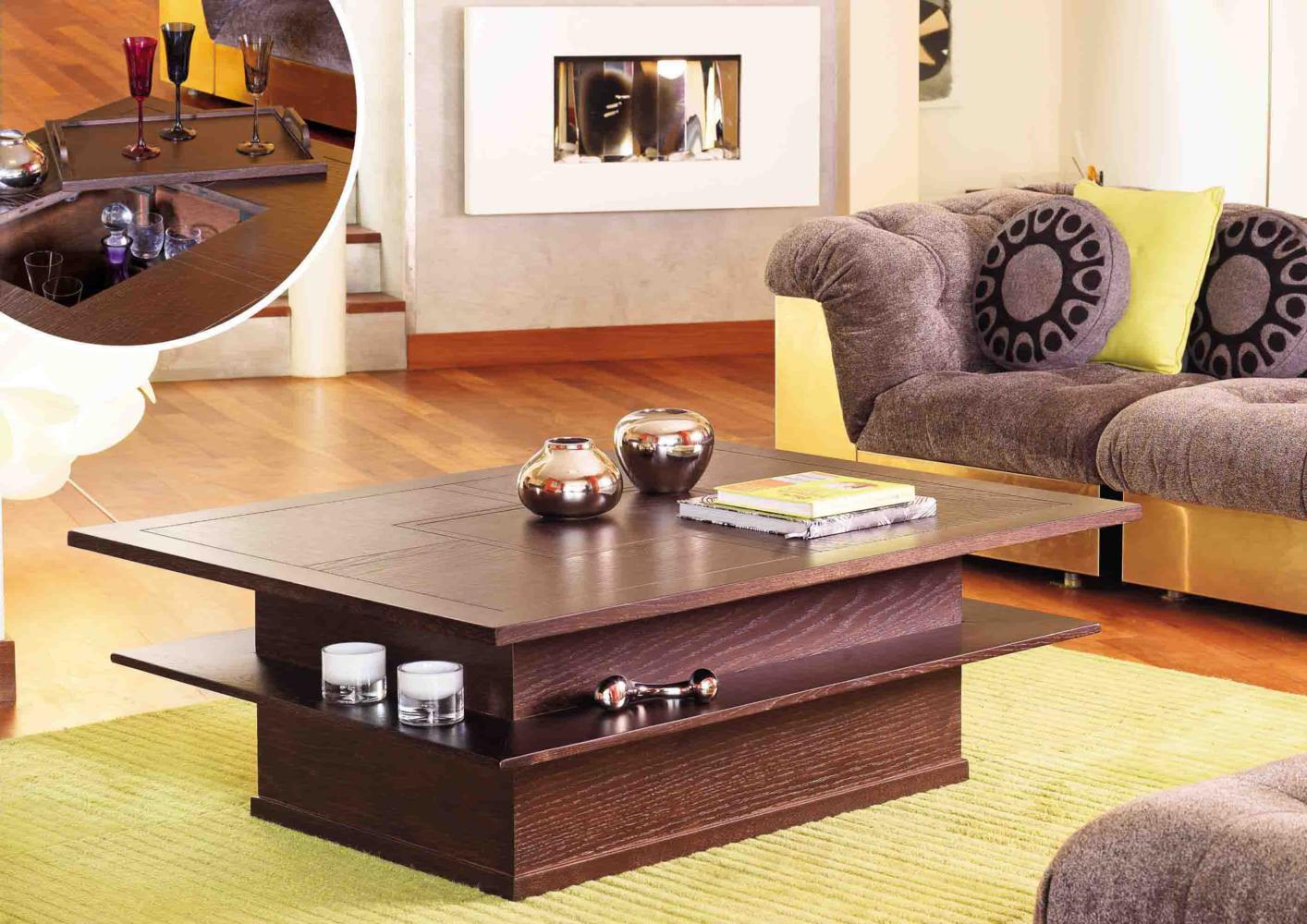 acheter votre table basse bar et plateau amovible chez simeuble. Black Bedroom Furniture Sets. Home Design Ideas