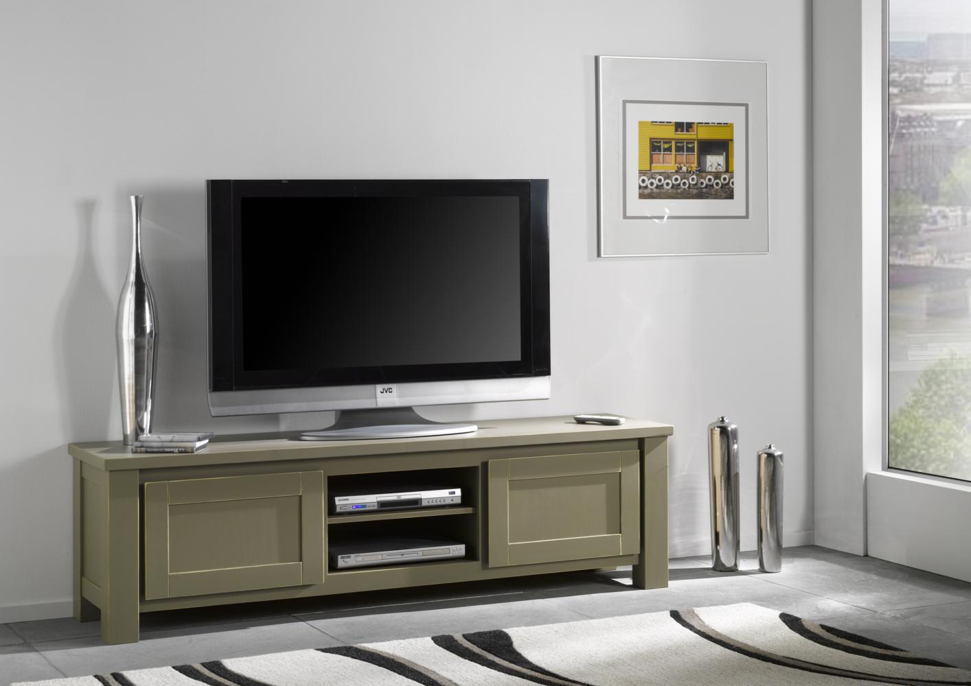 acheter votre meuble tv bas 4 niches 1 porte chez simeuble. Black Bedroom Furniture Sets. Home Design Ideas