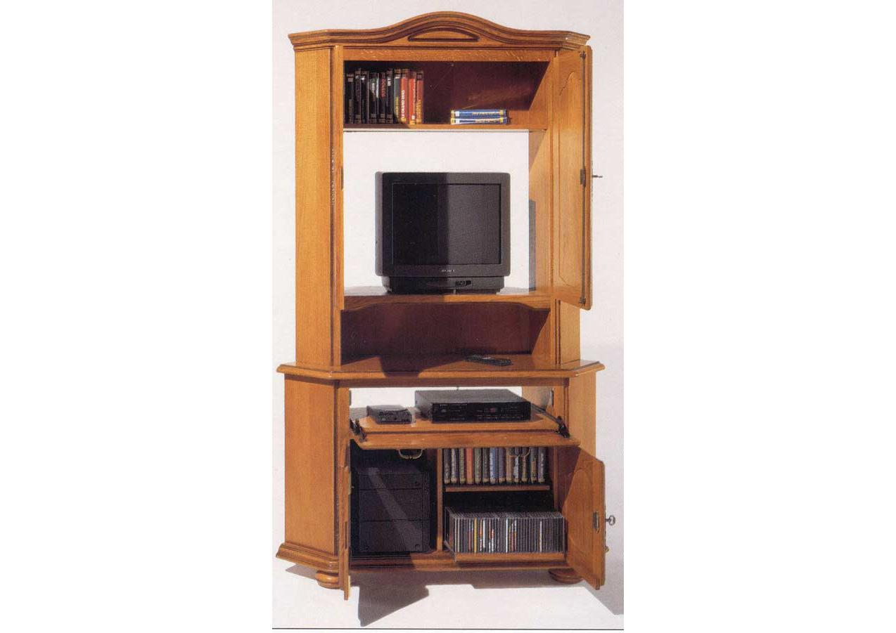acheter votre meuble tv hifi 2 portes chez simeuble. Black Bedroom Furniture Sets. Home Design Ideas
