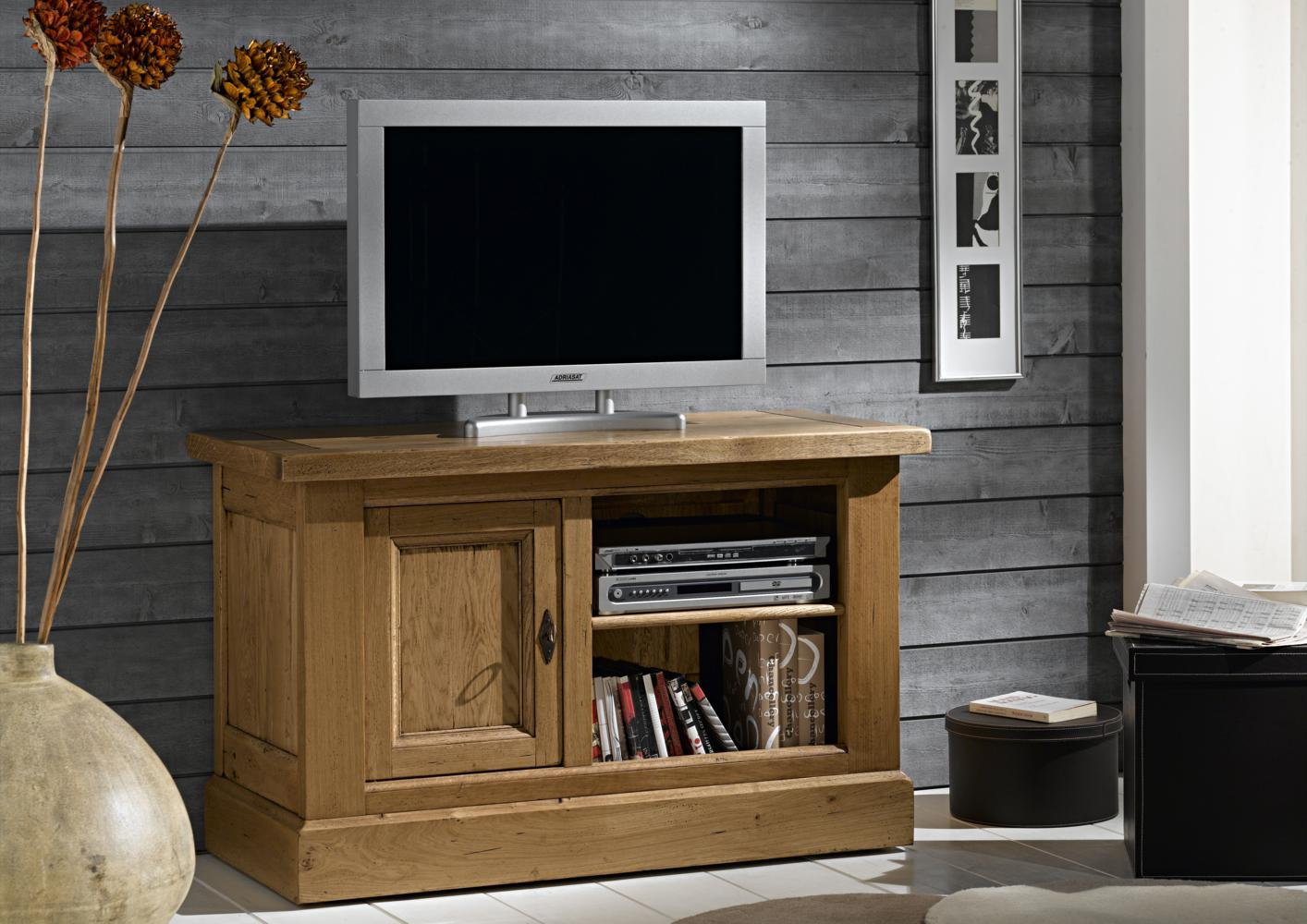 acheter votre meuble tv bas 1 porte 1 niche chez simeuble. Black Bedroom Furniture Sets. Home Design Ideas