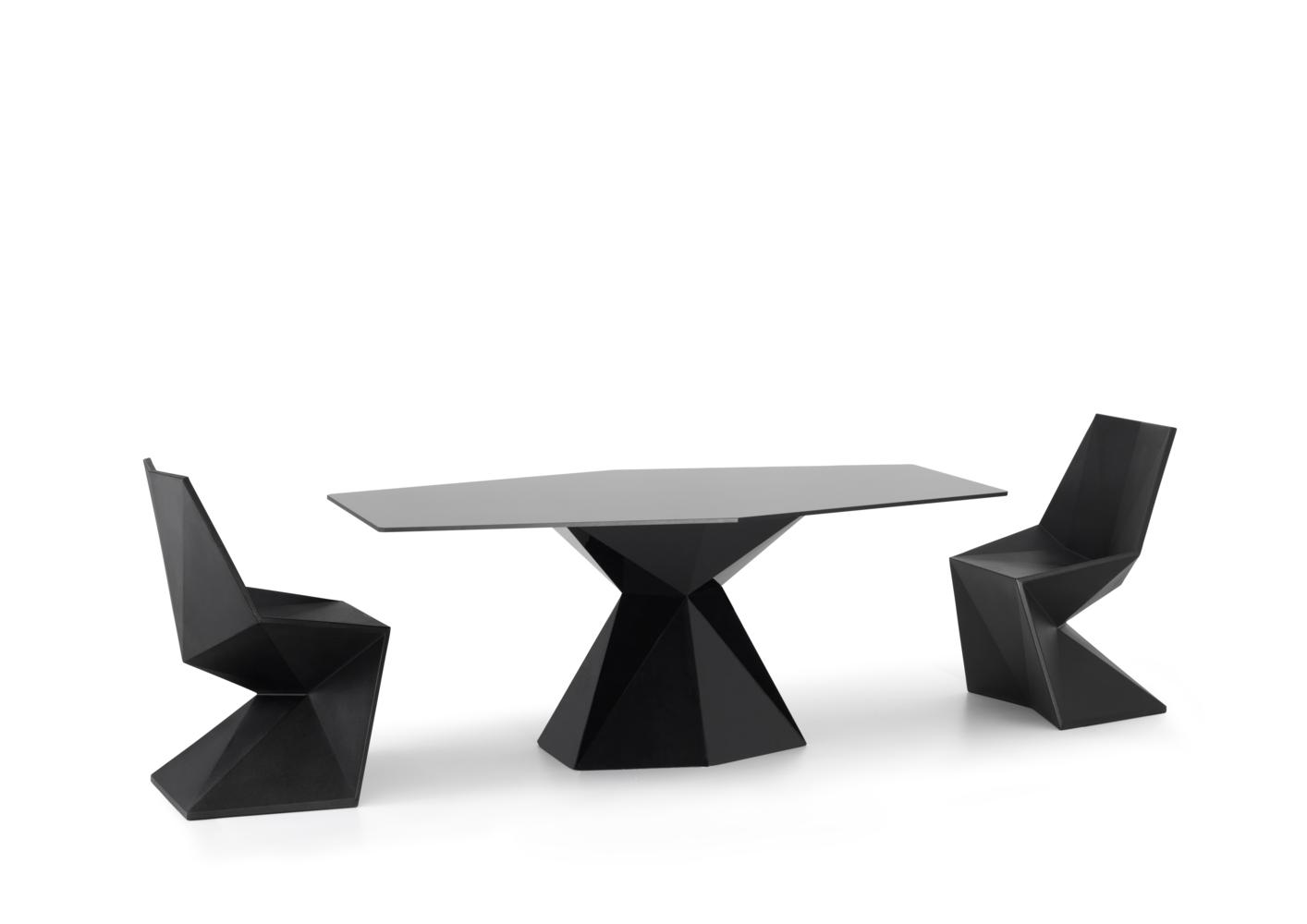 acheter votre table de jardin contemporaine chez simeuble. Black Bedroom Furniture Sets. Home Design Ideas