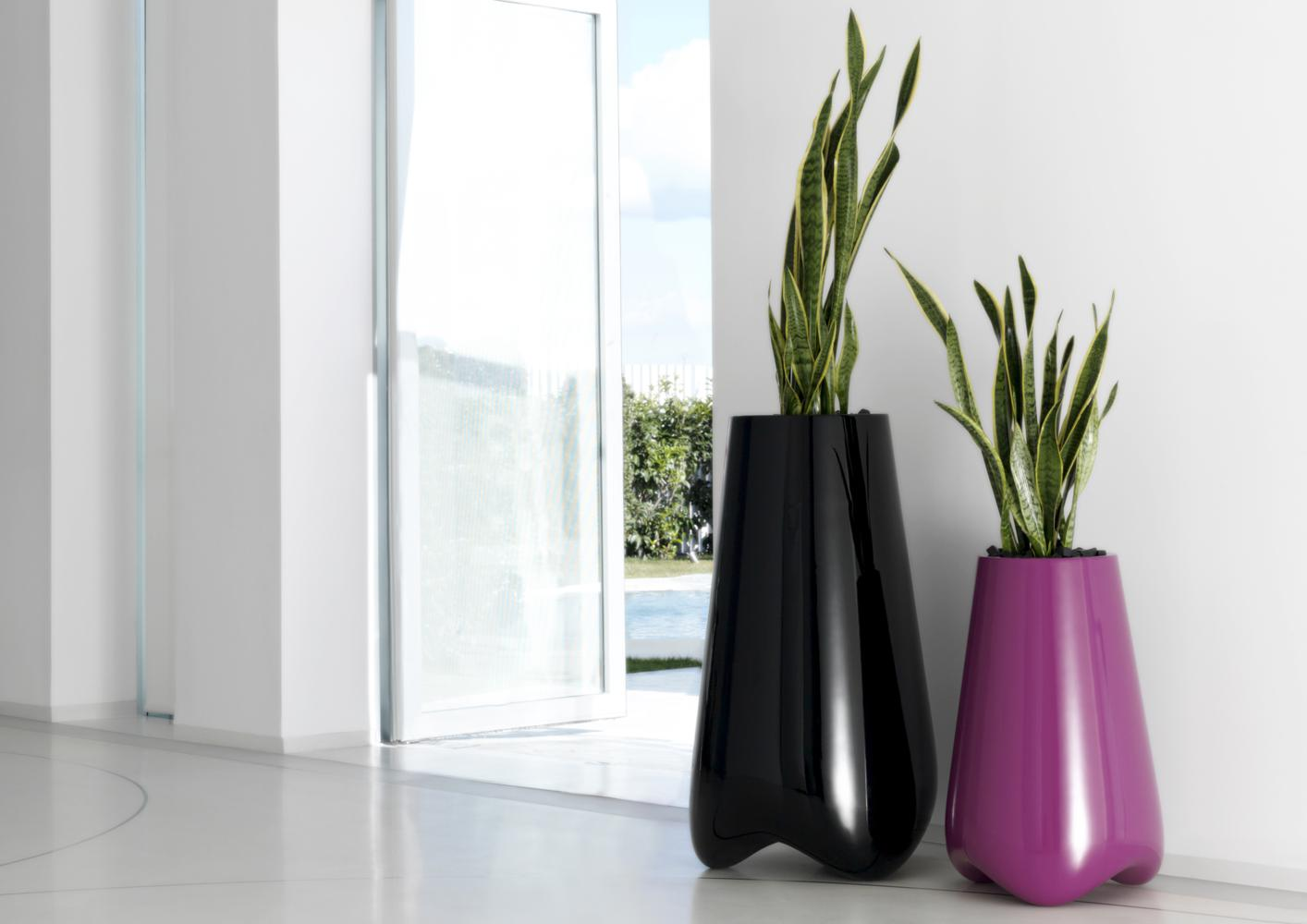 acheter votre vase contemporain option clairage led chez simeuble. Black Bedroom Furniture Sets. Home Design Ideas