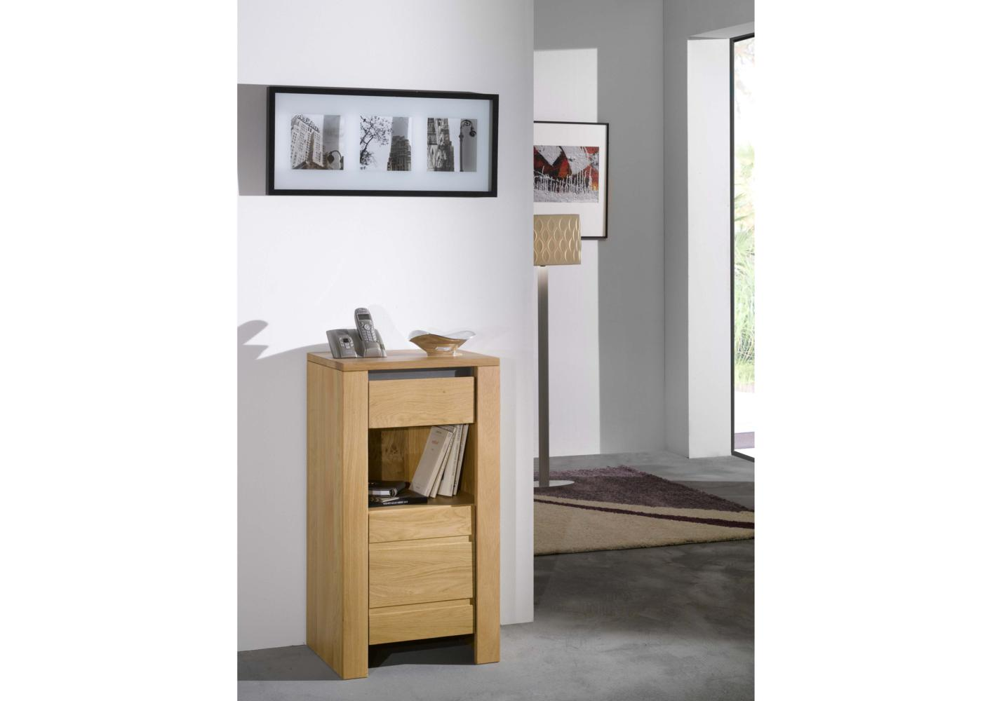 acheter votre meuble t l phone 1 porte 1 niche 1 tiroir. Black Bedroom Furniture Sets. Home Design Ideas