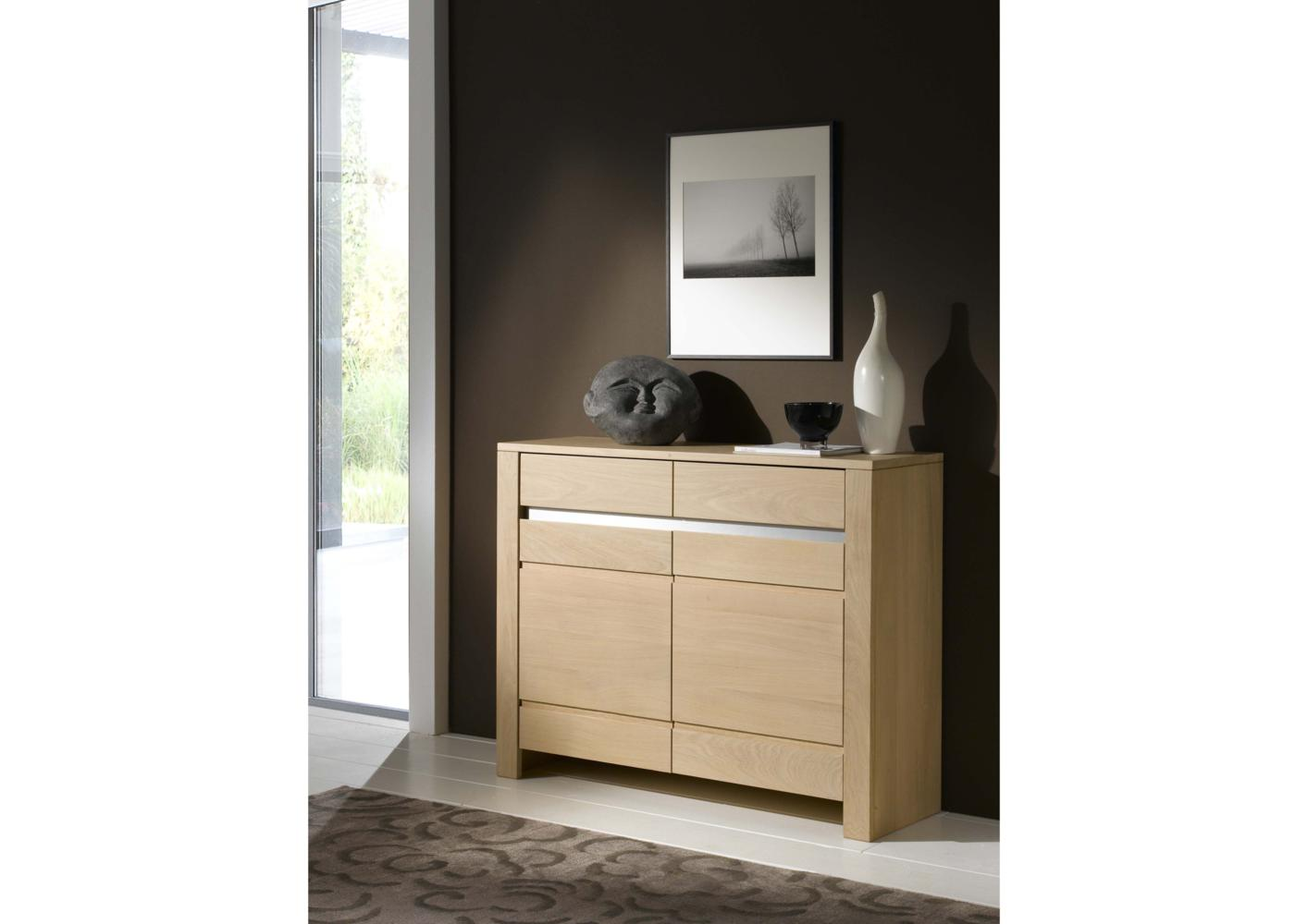 acheter votre meuble t l phone 1 porte 1 niche 1 tiroir chez simeuble. Black Bedroom Furniture Sets. Home Design Ideas
