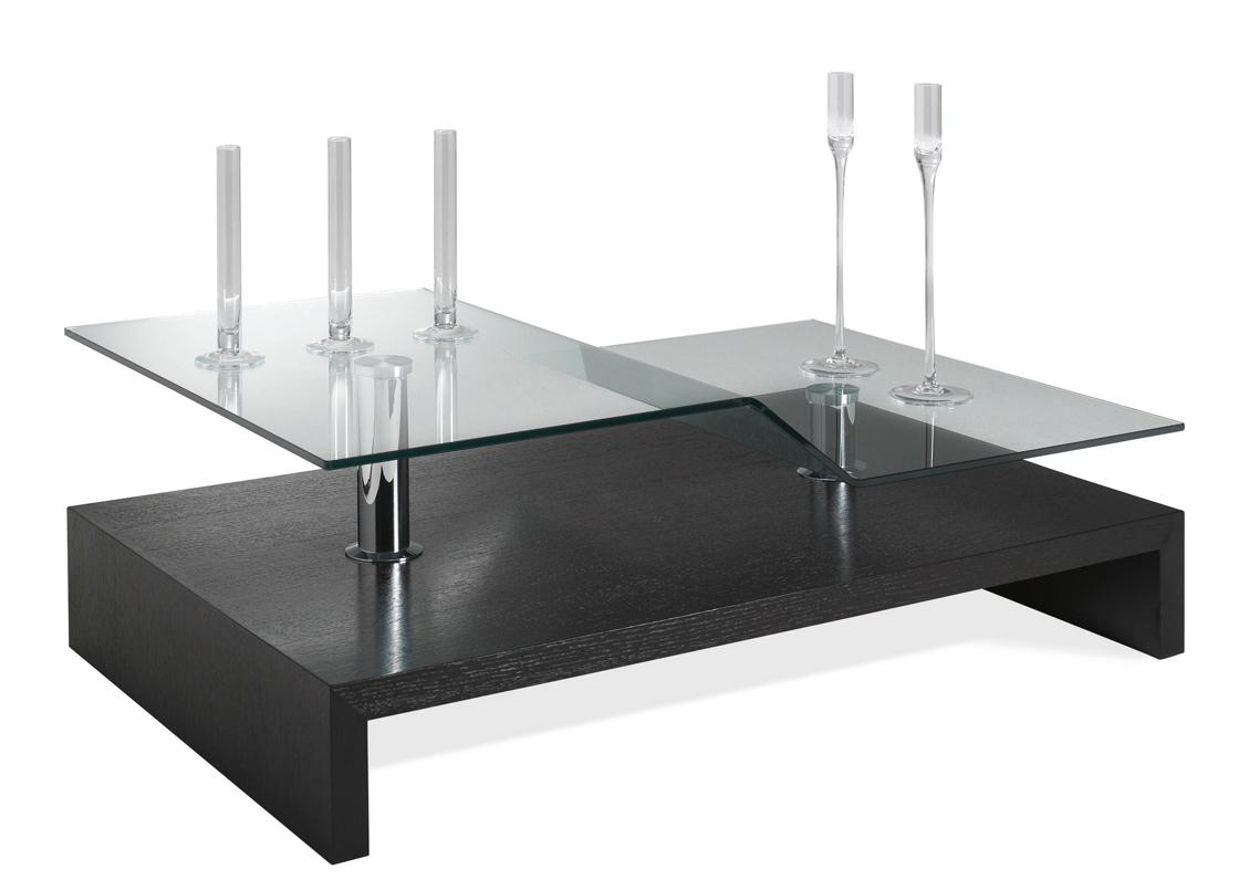 acheter votre table basse contemporaine dessus verre chez simeuble. Black Bedroom Furniture Sets. Home Design Ideas