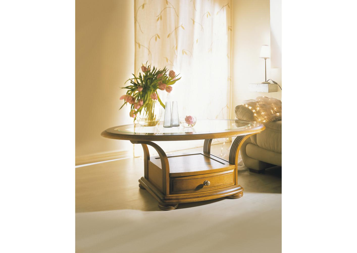 Table basse ovale dessus verre tbc180 pictures to pin on pinterest - Table basse dessus verre ...