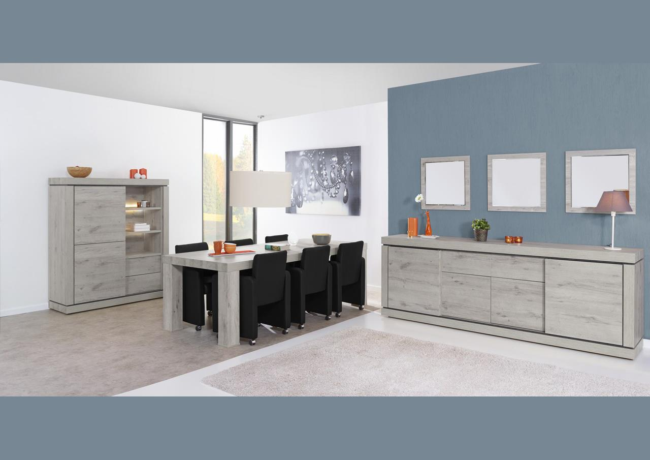 acheter votre enfilade moderne 4 portes 2 tiroirs en. Black Bedroom Furniture Sets. Home Design Ideas