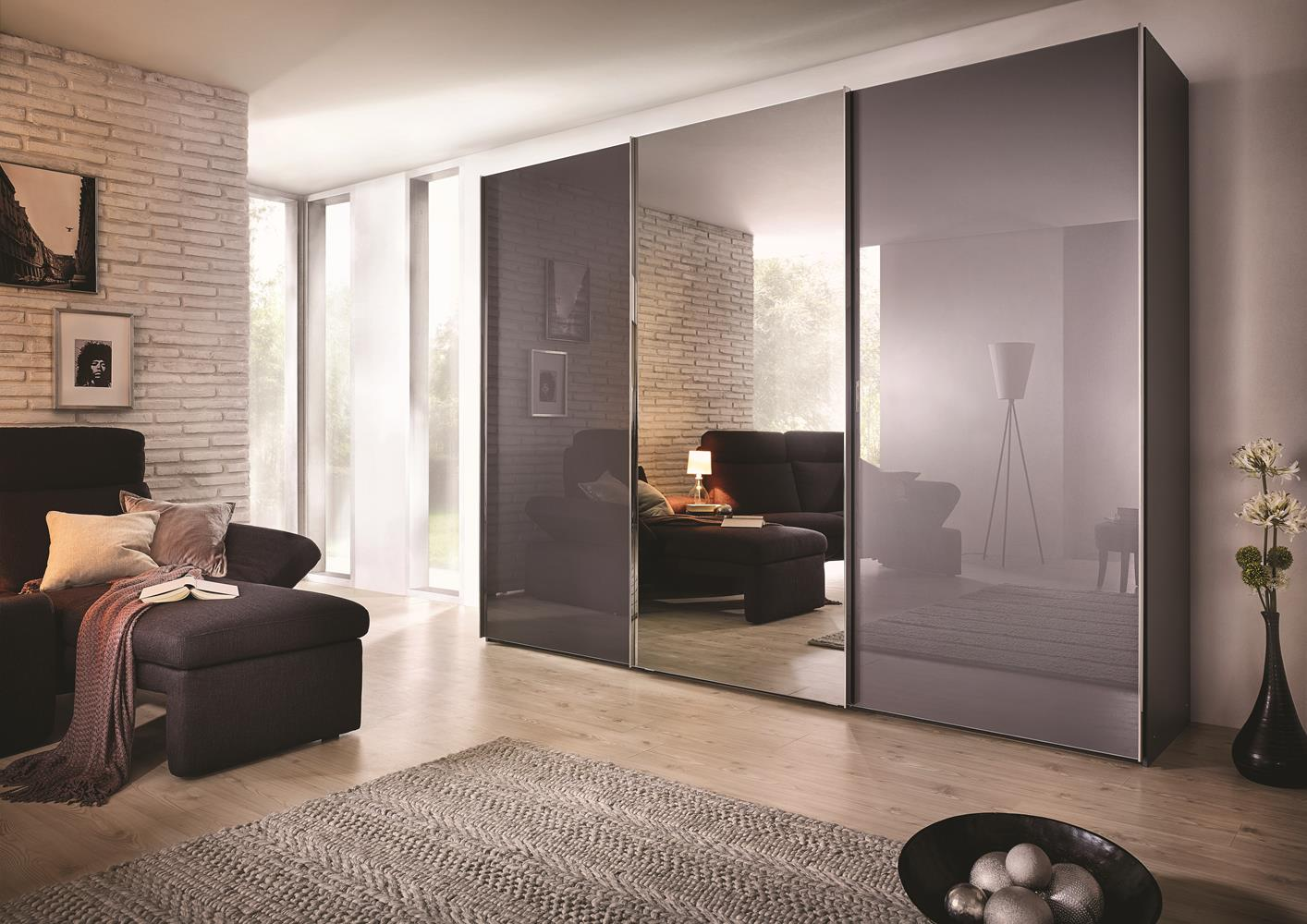 acheter votre dressing 3 portes coulissantes avec miroir. Black Bedroom Furniture Sets. Home Design Ideas