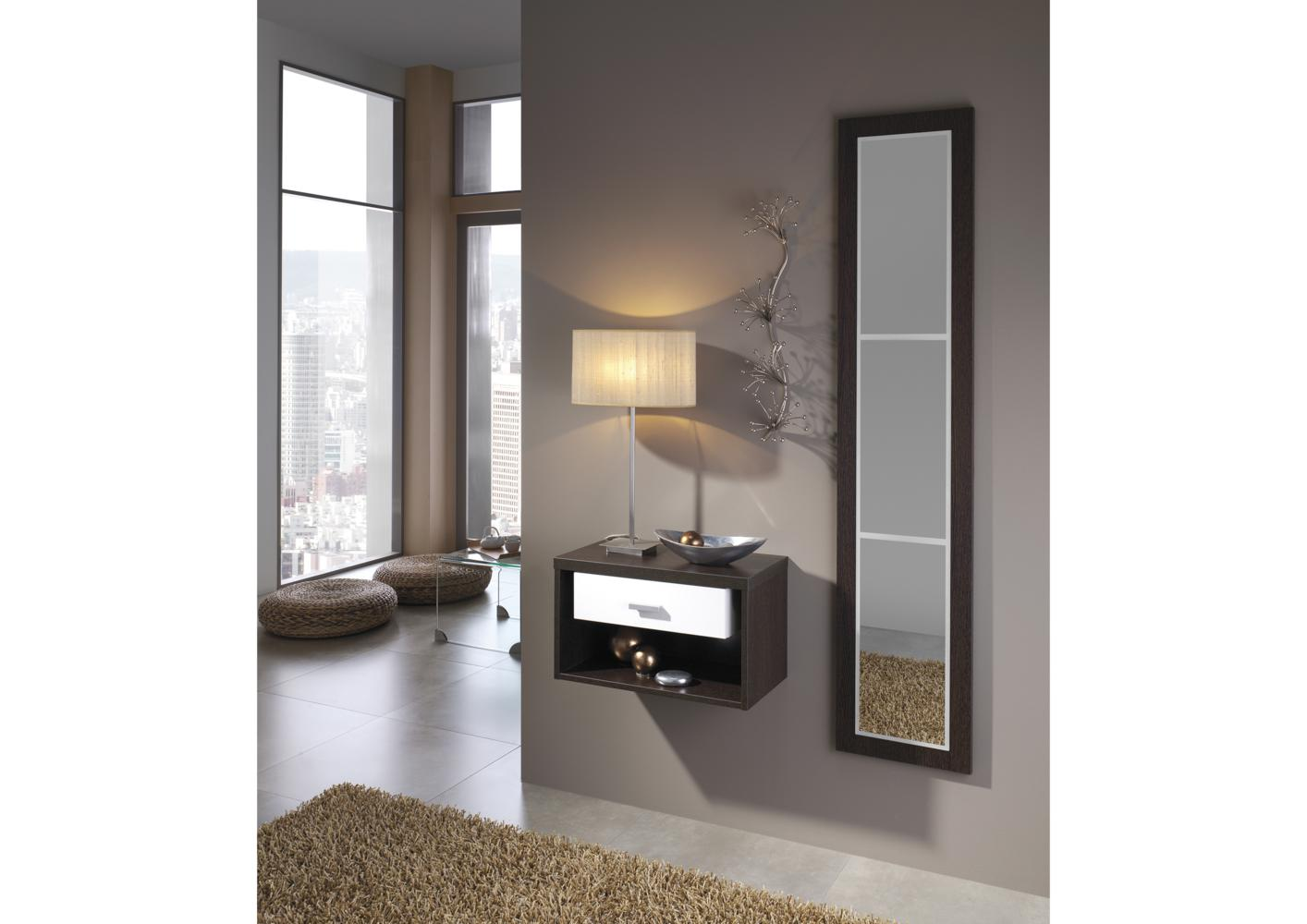 armoire entree avec miroir. Black Bedroom Furniture Sets. Home Design Ideas