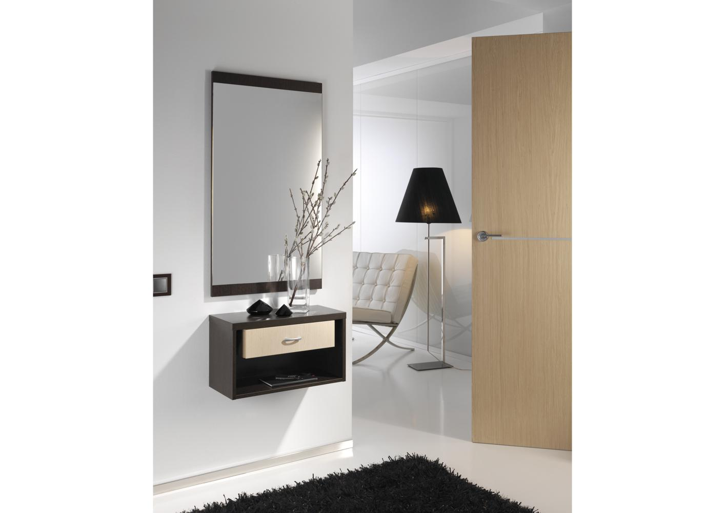 miroir entree contemporain. Black Bedroom Furniture Sets. Home Design Ideas