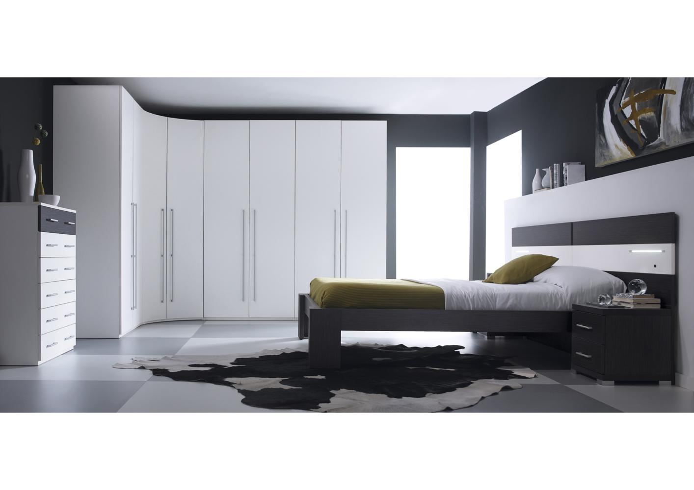 acheter votre armoire dressing contemporaine blanche chez. Black Bedroom Furniture Sets. Home Design Ideas