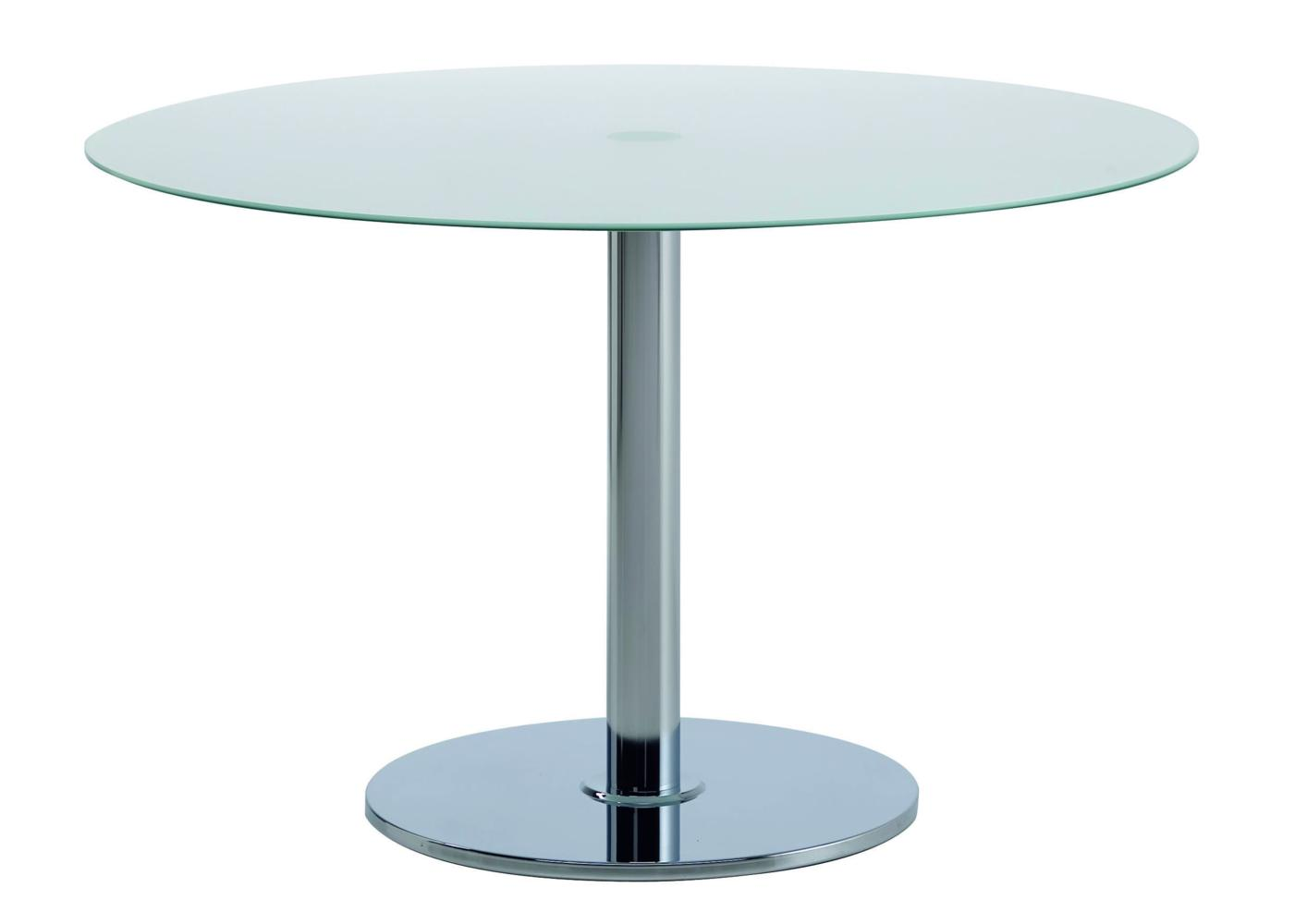 Table ronde bois massif pied central id e for Prix isolation par soufflage