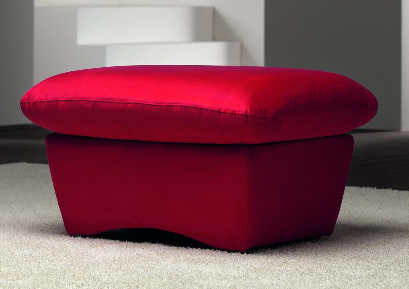 acheter votre pouf rectangulaire option bicolore chez simeuble. Black Bedroom Furniture Sets. Home Design Ideas
