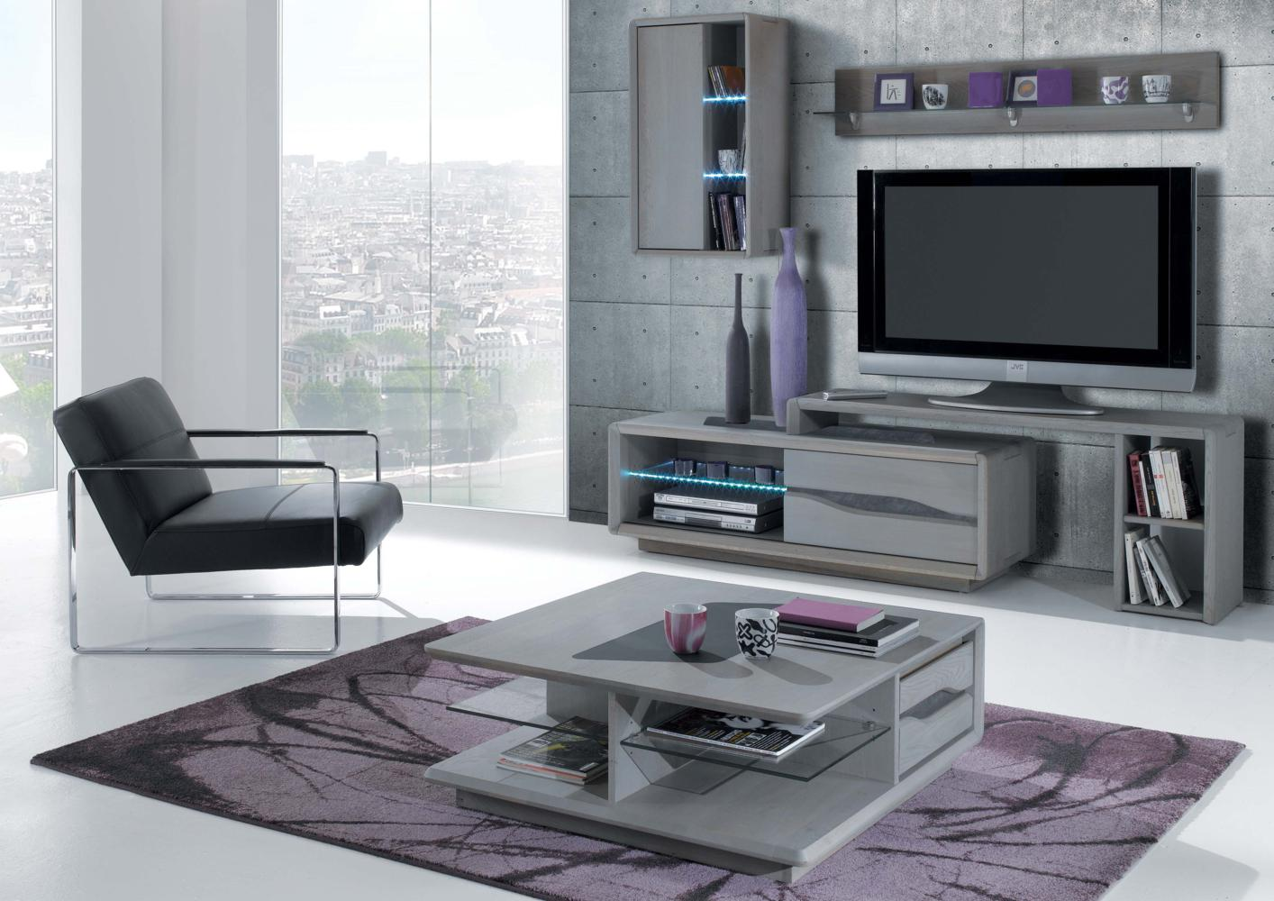 Meuble Tv Table Basse Assorti table basse 2 tiroirs 2 niches