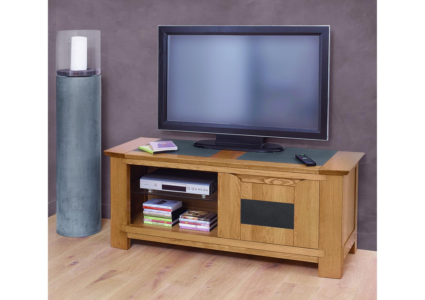 acheter votre meuble tv hifi conemporain 1 porte 1 niche. Black Bedroom Furniture Sets. Home Design Ideas