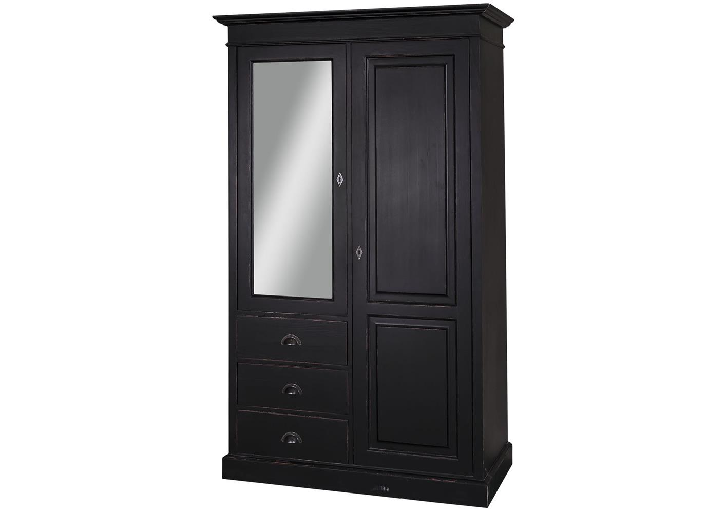 armoire penderie avec miroir maison design. Black Bedroom Furniture Sets. Home Design Ideas