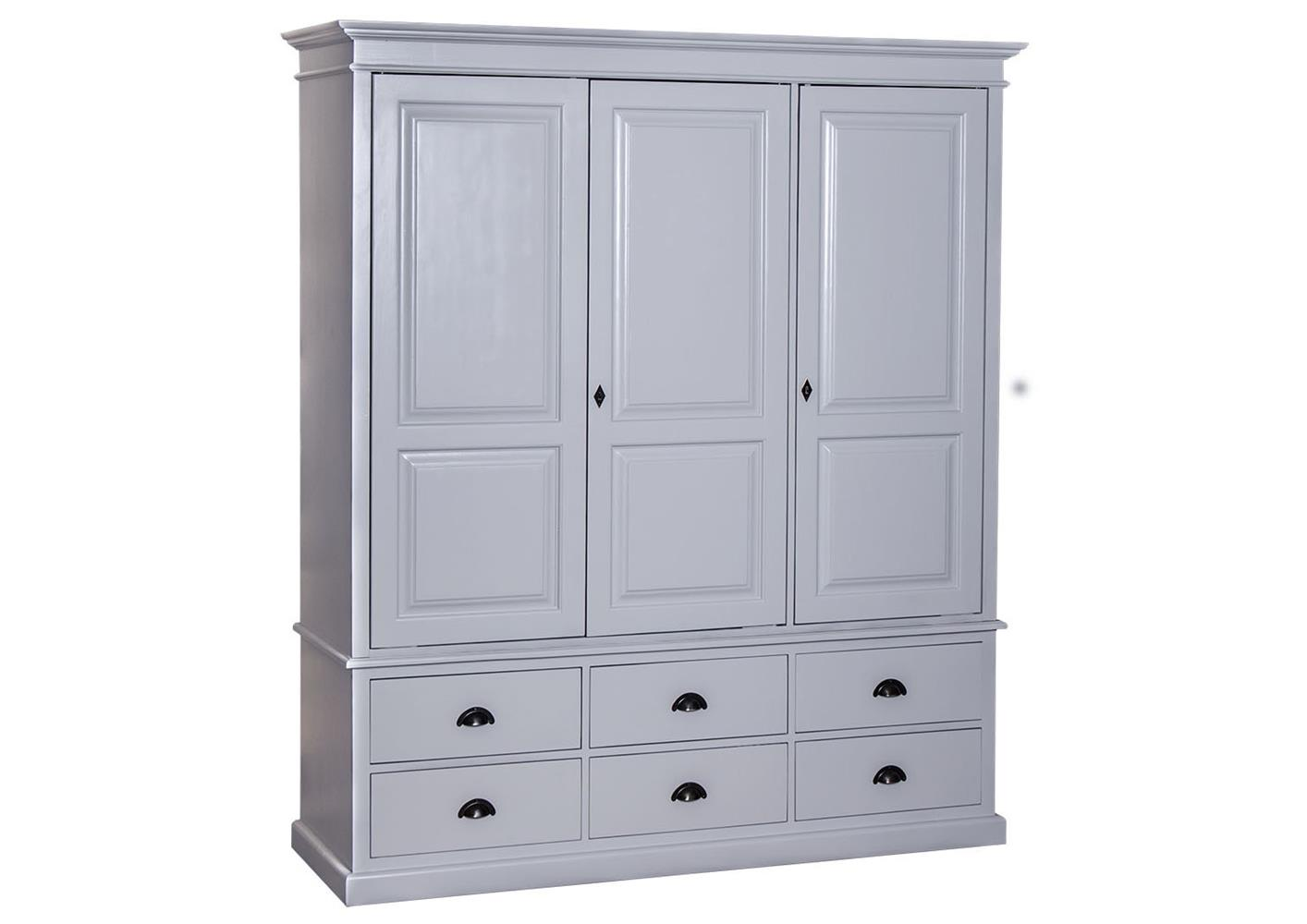 acheter votre armoire en pin massif avec 3 portes. Black Bedroom Furniture Sets. Home Design Ideas