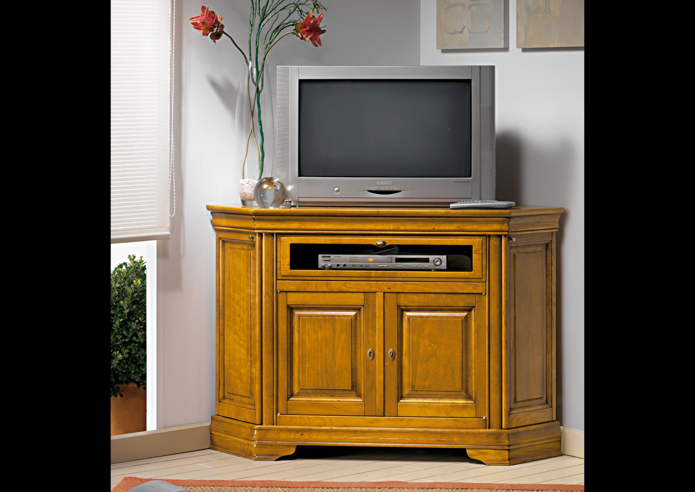 acheter votre meuble tv d 39 angle bas chez simeuble. Black Bedroom Furniture Sets. Home Design Ideas