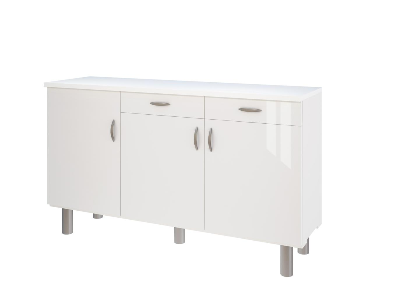 Mobilier table buffet de cuisine bas for Buffet bas cuisine conforama