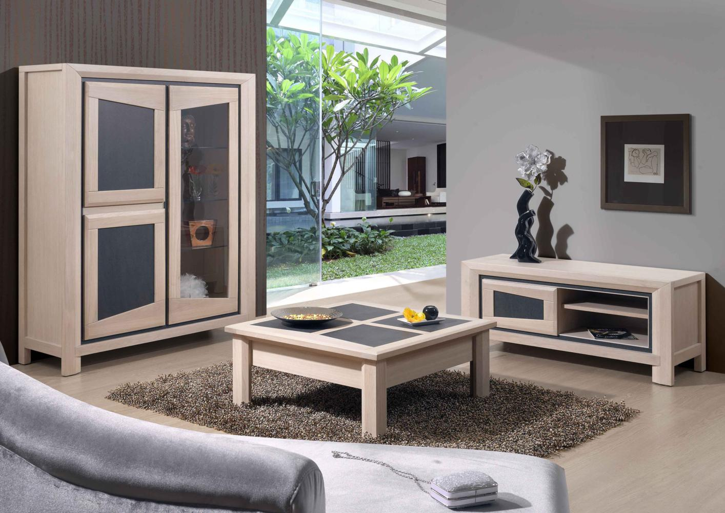 acheter votre meuble tv 1 porte chene massif et ceramique. Black Bedroom Furniture Sets. Home Design Ideas