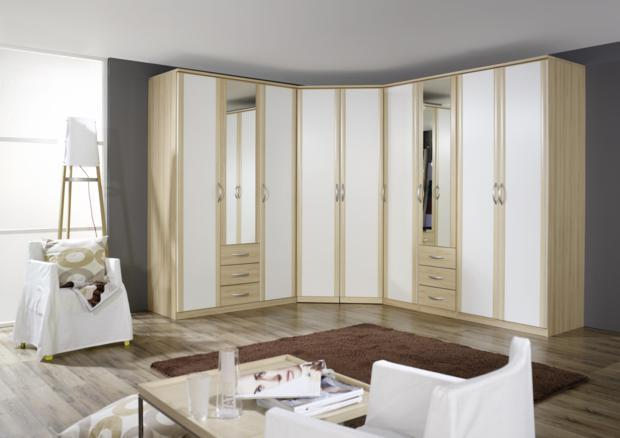armoire dressing contemporain d cor bois verre laqu miroir. Black Bedroom Furniture Sets. Home Design Ideas