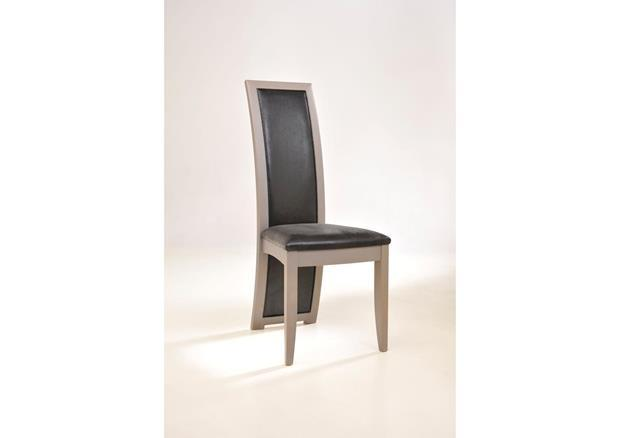 Chaise contemporaine dos garni