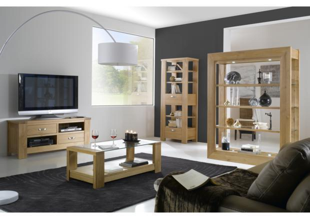 acheter votre meuble 1 porte pleine 1 porte vitr e led en option chez simeuble. Black Bedroom Furniture Sets. Home Design Ideas