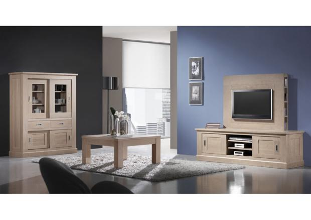 acheter votre meuble tv bas 2 portes coulissantes chez. Black Bedroom Furniture Sets. Home Design Ideas