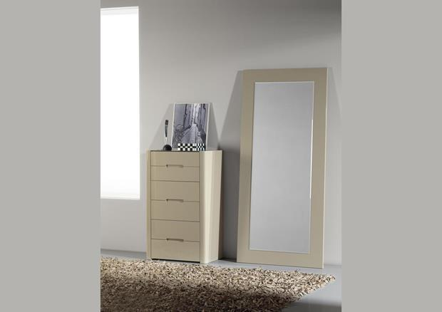 acheter votre meuble de rangement 6 tiroirs laqu blanc. Black Bedroom Furniture Sets. Home Design Ideas