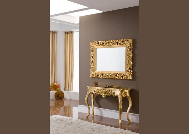 acheter votre miroir original argent style baroque chez. Black Bedroom Furniture Sets. Home Design Ideas