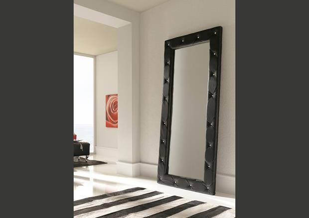 acheter votre miroir rectangulaire laqu blanc chez simeuble. Black Bedroom Furniture Sets. Home Design Ideas