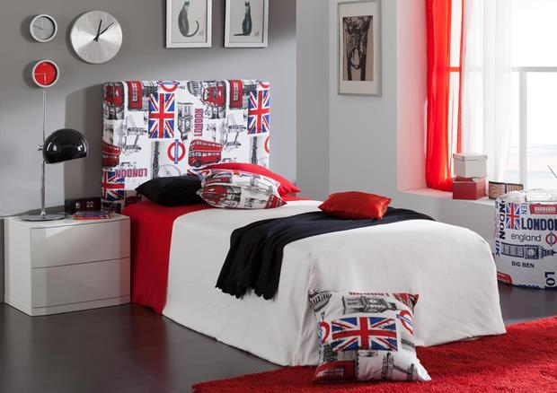 acheter votre t te de lit en pvc blanc chez simeuble. Black Bedroom Furniture Sets. Home Design Ideas