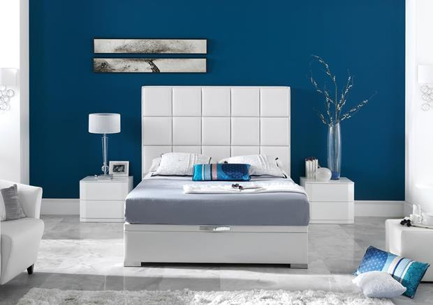 acheter votre t te de lit tricolor en pvc noir argent et. Black Bedroom Furniture Sets. Home Design Ideas