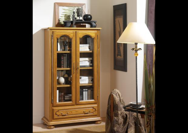 acheter votre biblioth que d 39 angle chez simeuble. Black Bedroom Furniture Sets. Home Design Ideas