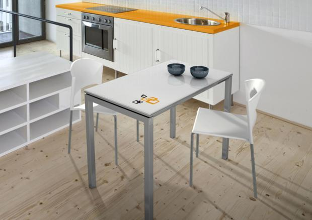 Acheter votre table extensible 1 allonge de 45cm chez simeuble for Table extensible 120 240 cm allonge integree