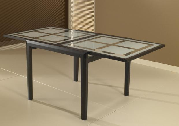 acheter votre table extensible 1 allonge de 90 ou 123 cm chez simeuble. Black Bedroom Furniture Sets. Home Design Ideas